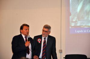 I saluti dell'Amministrazione Comunale attraverso le parole del Vicesindaco Prof. Mario Nofara