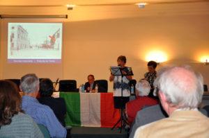 """Presentazione del volume """"San Bonifacio nella Grande Guerra"""" da parte di Bruna Colla e Alessandra Cassin"""